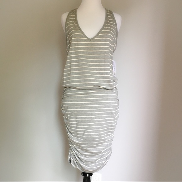 Athleta Dresses & Skirts - NWT Athleta Striped Racerback Tank Dress
